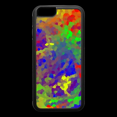 Funky Crystal Tie Dye Design. - iPhone 6/6s Rubber Case