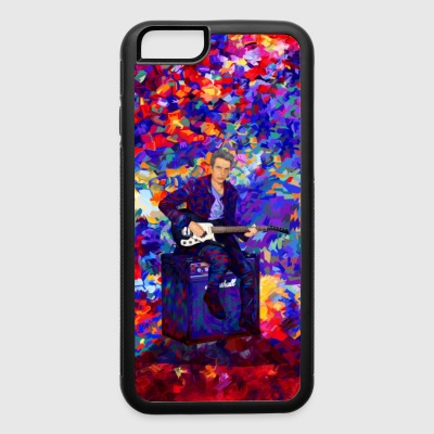 Time Traveller Guitarist Abstract Art case - iPhone 6/6s Rubber Case