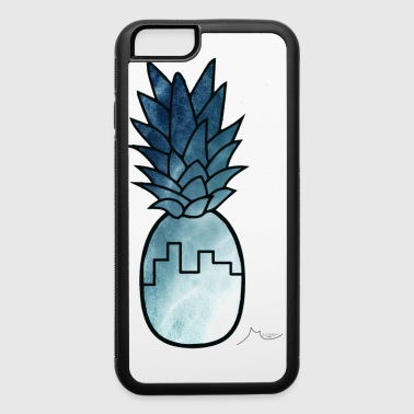 Blue Building PineApple | Collector ♛ - iPhone 6/6s Rubber Case