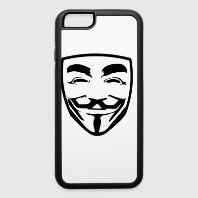 anonymous guy fawkes - iPhone 6/6s Rubber Case