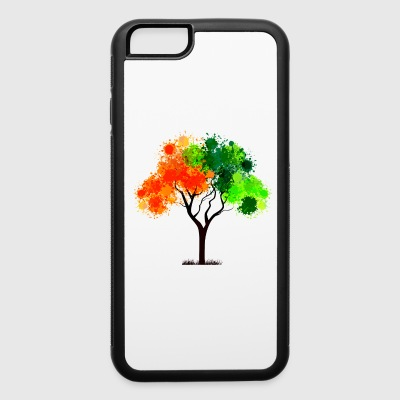 abstract tree - iPhone 6/6s Rubber Case