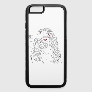 girl - iPhone 6/6s Rubber Case