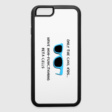 Only the Cool Kids - Blue Black - Type 1 Diabetes - iPhone 6/6s Rubber Case