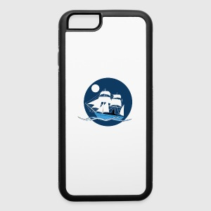 Night sailboat - iPhone 6/6s Rubber Case