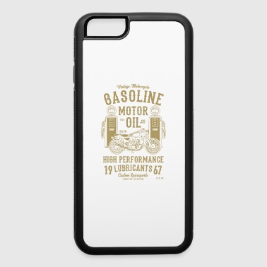 GASOLINE MOTOR OIL - iPhone 6/6s Rubber Case