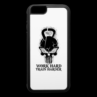 Gym Work Hard Train Harder - iPhone 6/6s Rubber Case