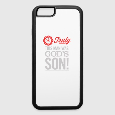This Man, God S Son - iPhone 6/6s Rubber Case