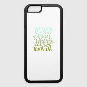 Hunger is the enemy - iPhone 6/6s Rubber Case