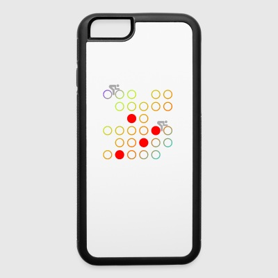 Retro cycling - iPhone 6/6s Rubber Case