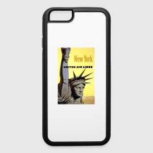 vintage newyork - iPhone 6/6s Rubber Case