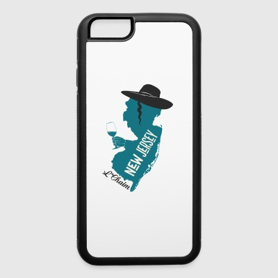 A funny map of New Jersey - iPhone 6/6s Rubber Case
