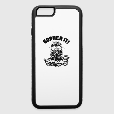 Mouse Gopher Cyber System - iPhone 6/6s Rubber Case