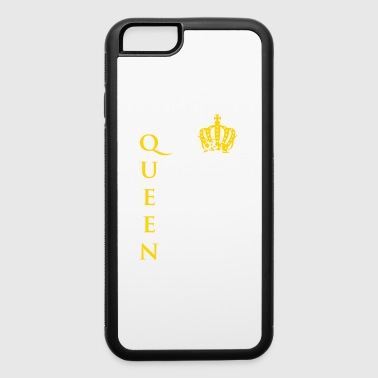 Queen Girl Woman crone gold best Chief Master funn - iPhone 6/6s Rubber Case