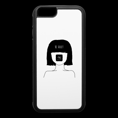 Be Quiet - Muted Mind - iPhone 6/6s Rubber Case