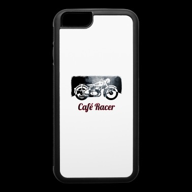 cafe racer motorbike Retro Biker - iPhone 6/6s Rubber Case