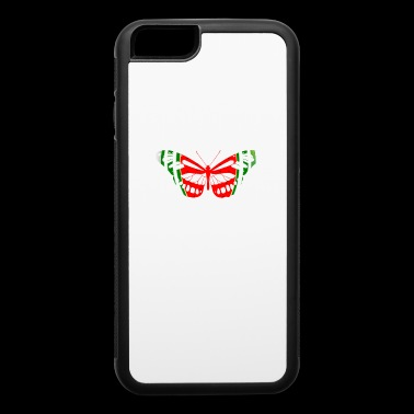 Butterfly Watermelon Summer Fruit Glow Party Funny - iPhone 6/6s Rubber Case