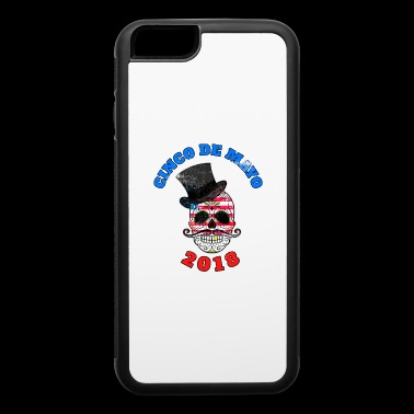 Cinco de Mayo 2018 Skull, candy skull, sugar skull - iPhone 6/6s Rubber Case