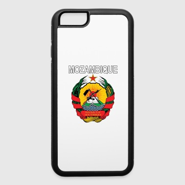 Mozambique coat of arms national design - iPhone 6/6s Rubber Case