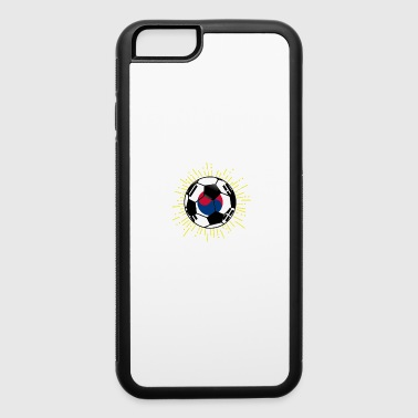 South Korea Soccer Design South Korean Flag World - iPhone 6/6s Rubber Case