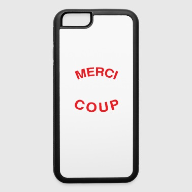 Merci Beaucoup Thank You Very Much French Language - iPhone 6/6s Rubber Case
