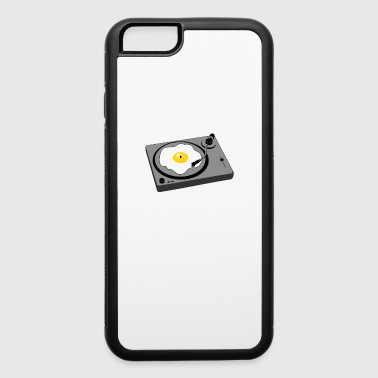 Sunny Side Up Fried Egg Turntable / Gift Idea - iPhone 6/6s Rubber Case
