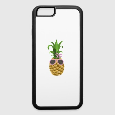Pineapple Fruit Summer Vacation Sunglasses Sun - iPhone 6/6s Rubber Case