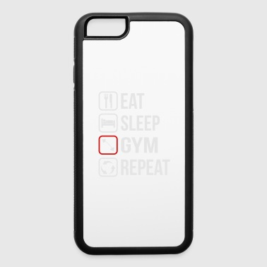 Eat Sleep Gym Repeat - iPhone 6/6s Rubber Case