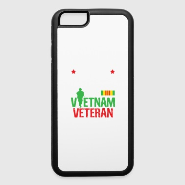 Proud Granddaughter Vietnam Veteran Shirt Veterans Day Gift - iPhone 6/6s Rubber Case