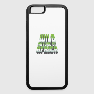 WILD NATURE OF AFRICA - Shirts & Gifts - iPhone 6/6s Rubber Case