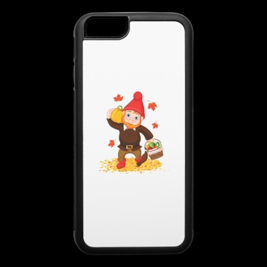Thanksgiving Garden Gnome - iPhone 6/6s Rubber Case