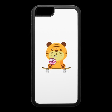Sweet baby Tiger skateboard - iPhone 6/6s Rubber Case