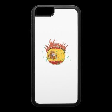 Championship Soccer Spain Fathers Day Fun Fan gift - iPhone 6/6s Rubber Case