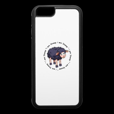 Black Sheep i am a sheep i am a black sheep gift - iPhone 6/6s Rubber Case