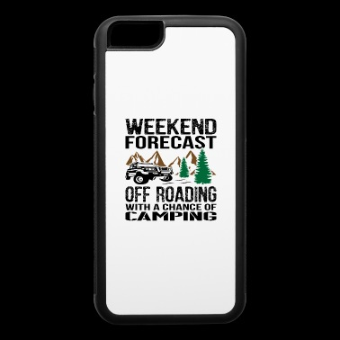 0ffroad With Chance Of Camping Jeep - iPhone 6/6s Rubber Case