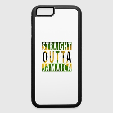 Straight Outta Jamaica flag only - iPhone 6/6s Rubber Case