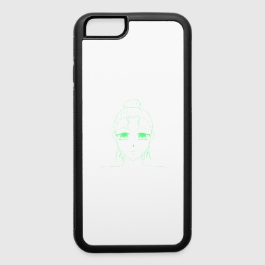 girl face facette unisex - iPhone 6/6s Rubber Case