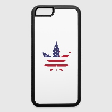 marijuana weed ganja leaf cannabis legalization - iPhone 6/6s Rubber Case