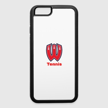 Westview High School Tennis (Red Lettering) - iPhone 6/6s Rubber Case
