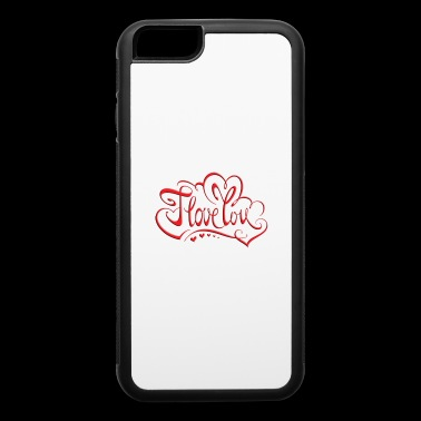 love red - iPhone 6/6s Rubber Case