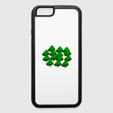 Wood Forest Tree - iPhone 6/6s Rubber Case