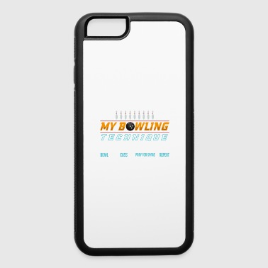 My Bowling Technique Gift - iPhone 6/6s Rubber Case