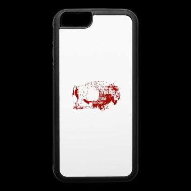 GRILL SHIRT AMERICAN BBQ - iPhone 6/6s Rubber Case