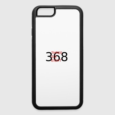 368 THREE SIX EIGHT - iPhone 6/6s Rubber Case