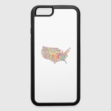 The United States - iPhone 6/6s Rubber Case