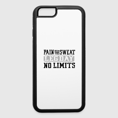 Funny Gym Workout Fitness Lifting Motivation Gift - iPhone 6/6s Rubber Case