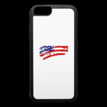 America flag - iPhone 6/6s Rubber Case
