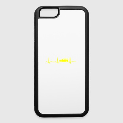 GIFT - ECG CAR YELLOW - iPhone 6/6s Rubber Case