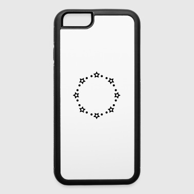 STARS CIRCLE MONOGRAMS FRAMES - iPhone 6/6s Rubber Case