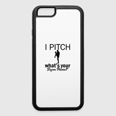 pitch design - iPhone 6/6s Rubber Case