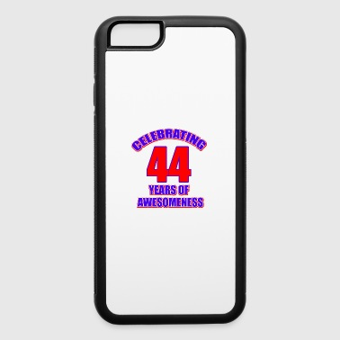 44 birthday design - iPhone 6/6s Rubber Case